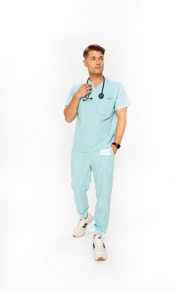 spodnie medyczne męskie med couture