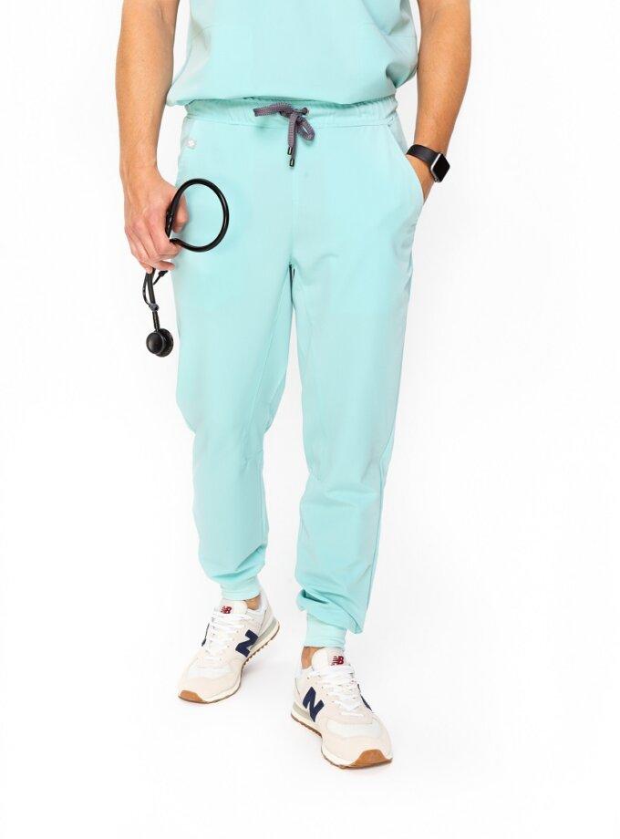 spodnie medyczne męskie slim