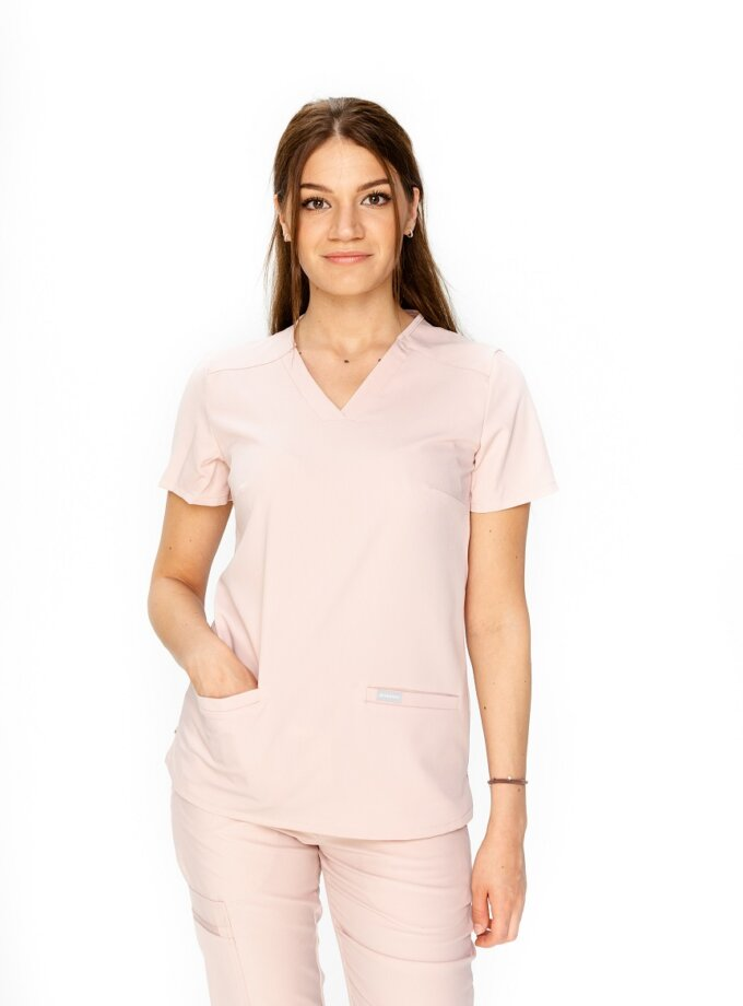 Bluza chirurgiczna różowa