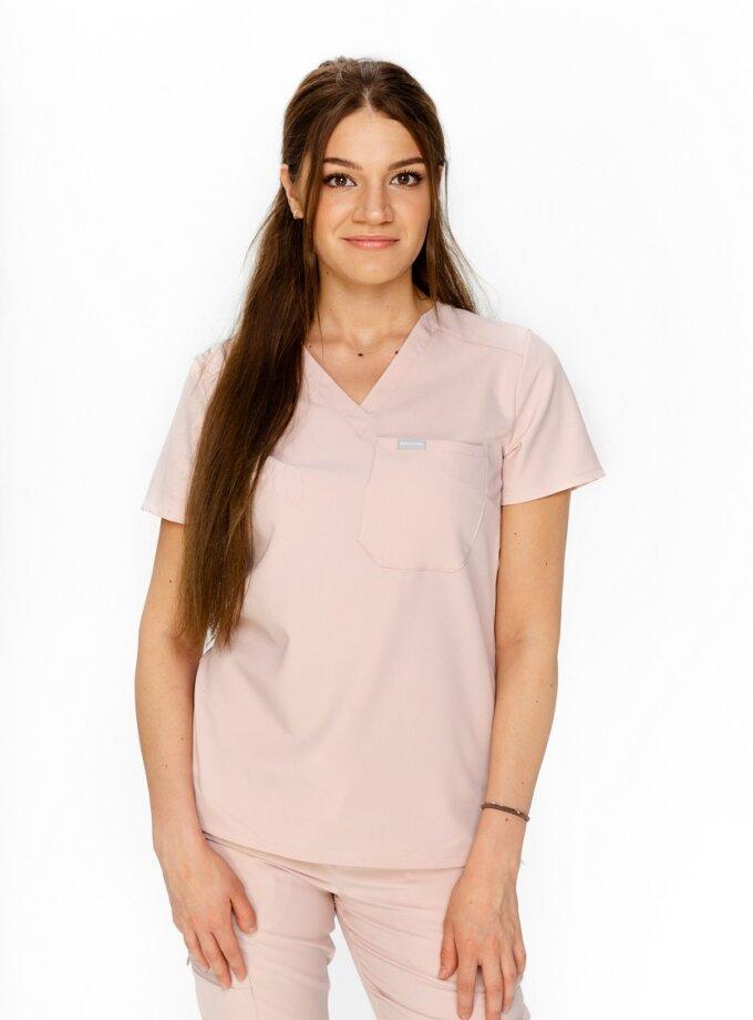 powder medical blouse