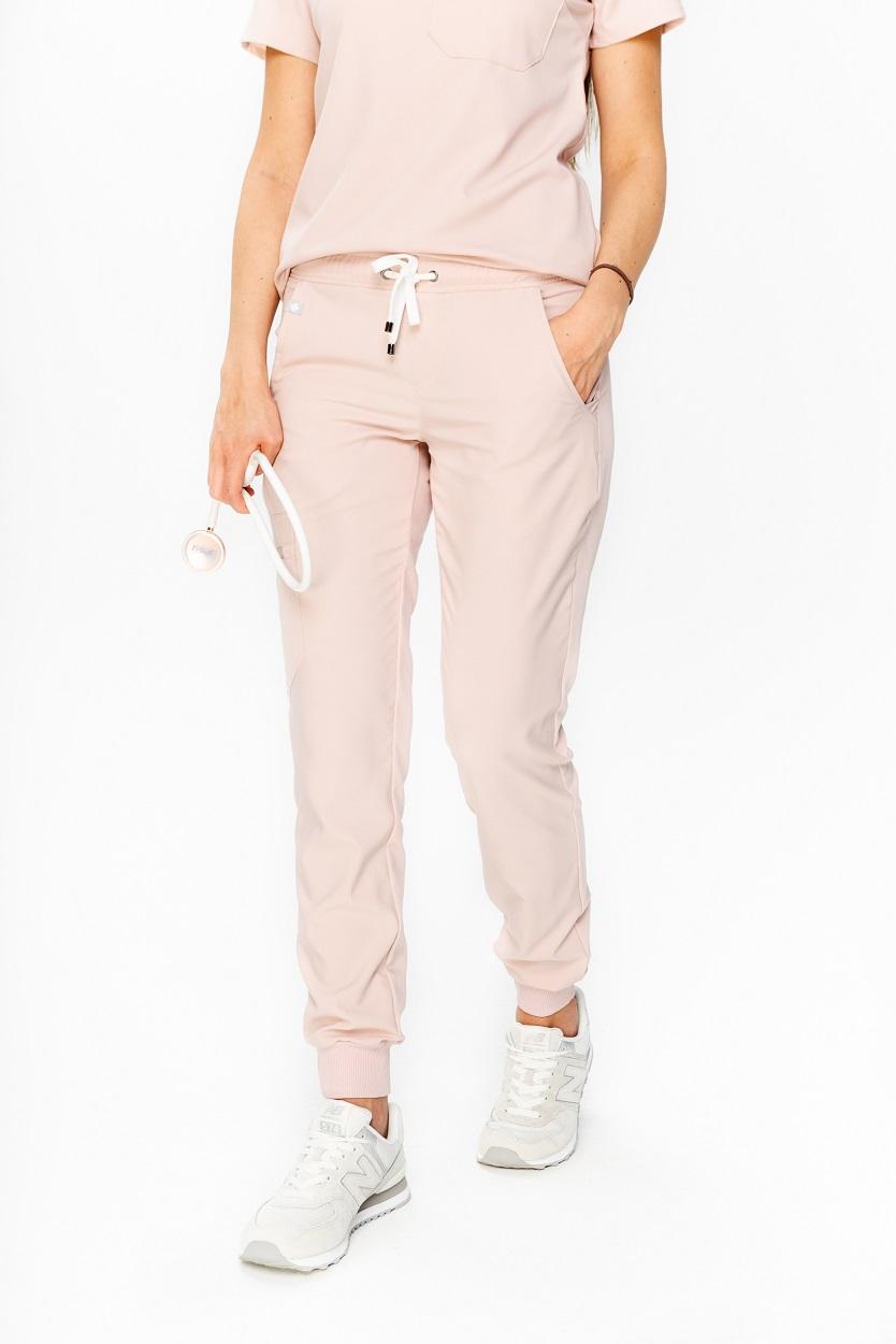 spodnie medyczne damskie joggery