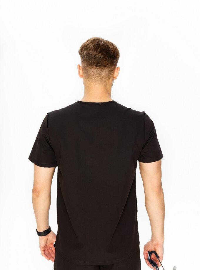 Czarna bluza medyczna
