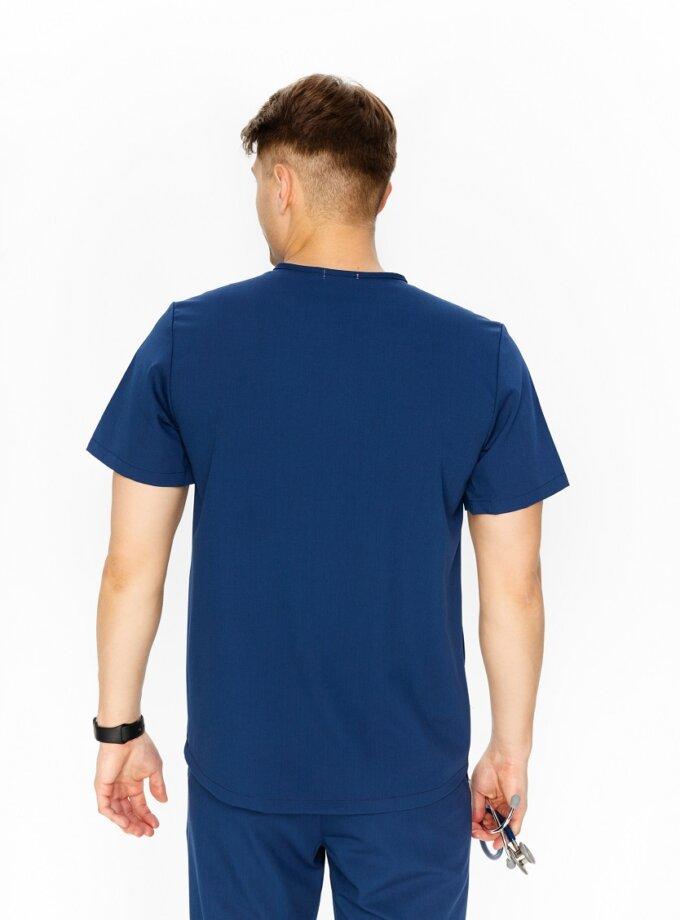 Granatowa bluza medyczna