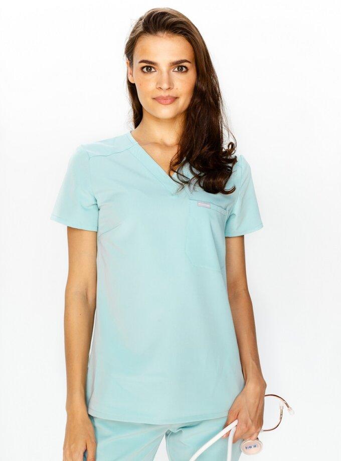 Bluza medyczna damska kolorowa