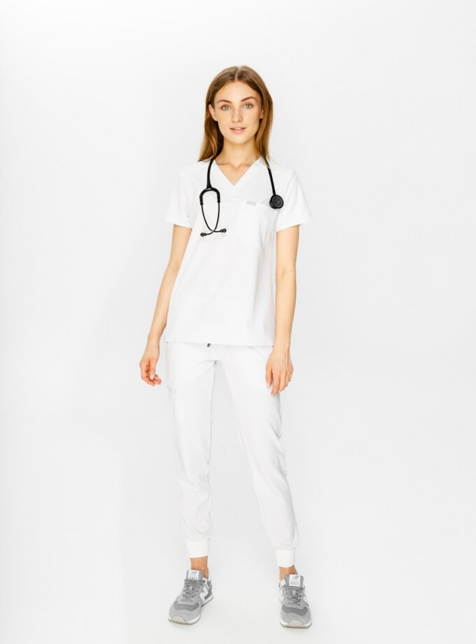 scrubs set white