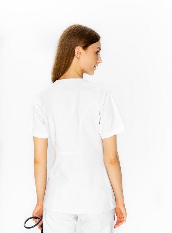 bluza medyczna biała damska