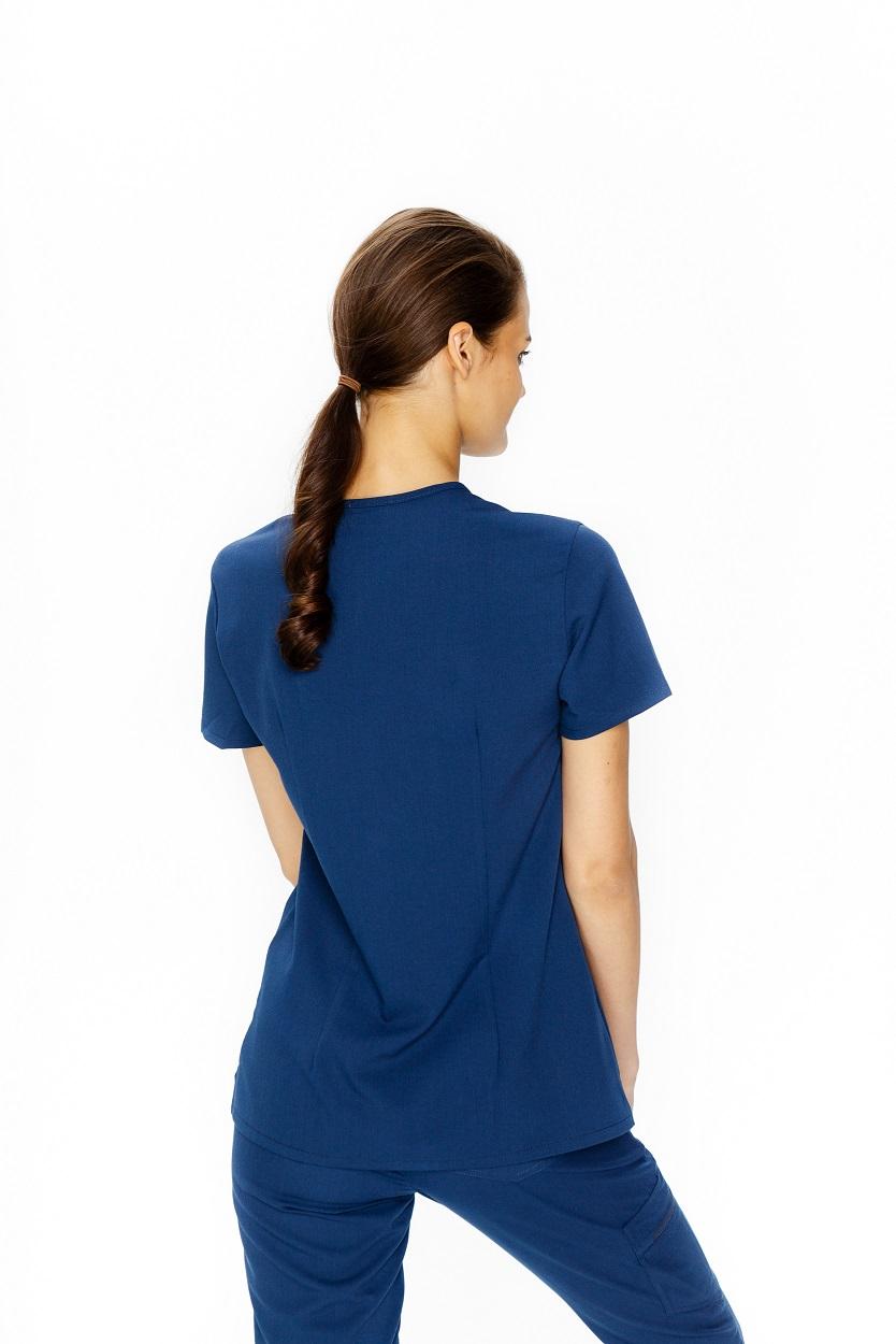 granatowa bluza medyczna damska