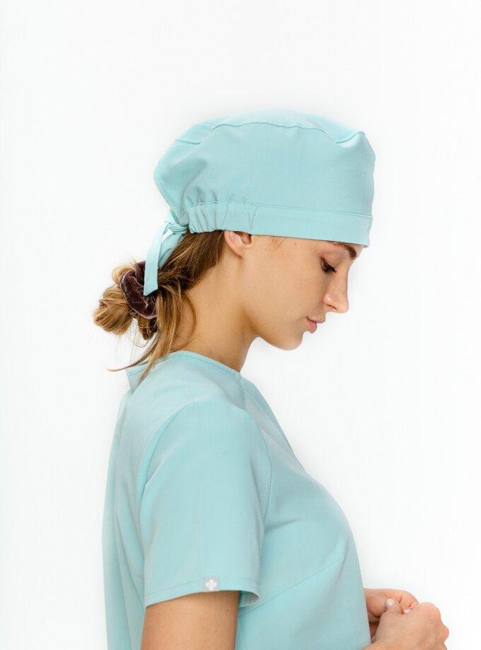 czepek chirurgiczny miętowy